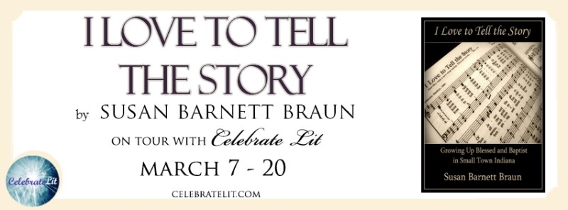 I love to tell the story FB banner