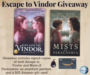 Escape to Vindor Giveaway