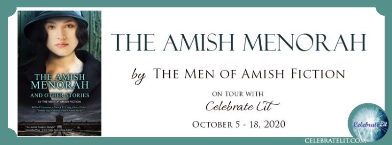 the amish menorah banner
