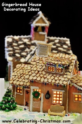 Gingerbread House Construction  Decorating Ideas