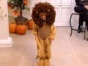 DIY Lion Kids Costume for Halloween