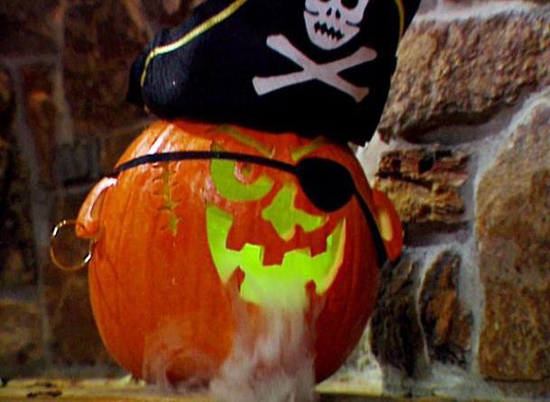 Free Pirate Pumpkin Carving Pattern