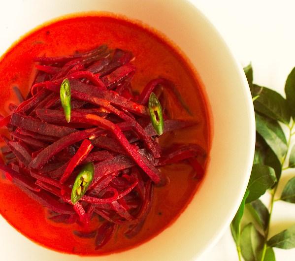 Healthy Sri Lankan Beetroot Curry