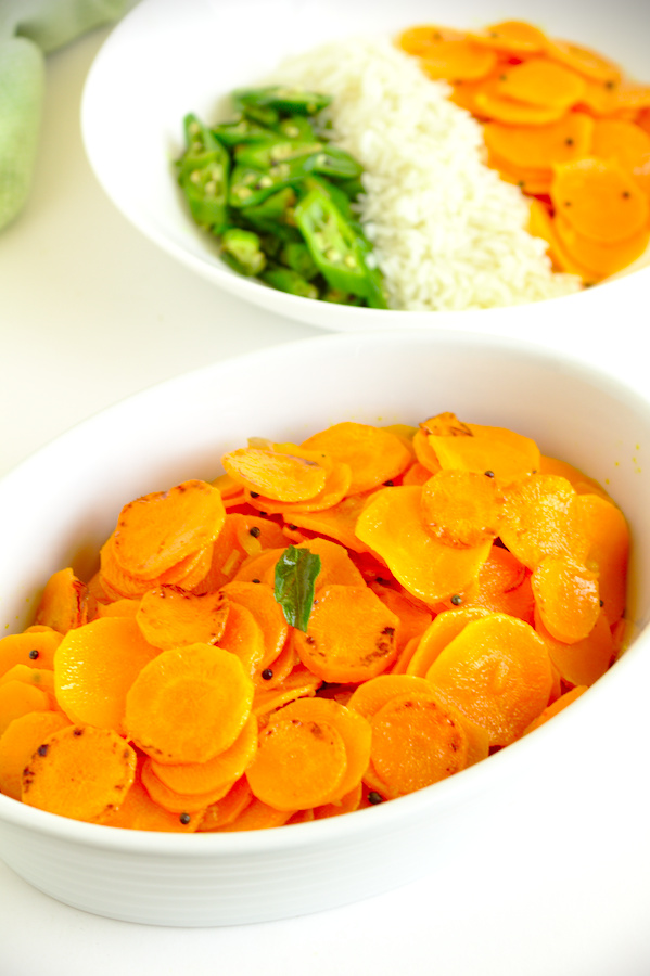 Sri Lankan style carrot stir-fry recipe