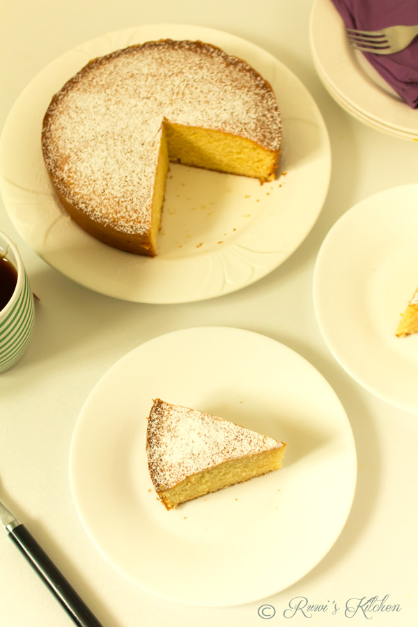 how to make butter cake