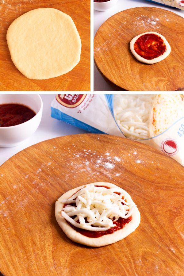 How to make mini cheese Pizzas