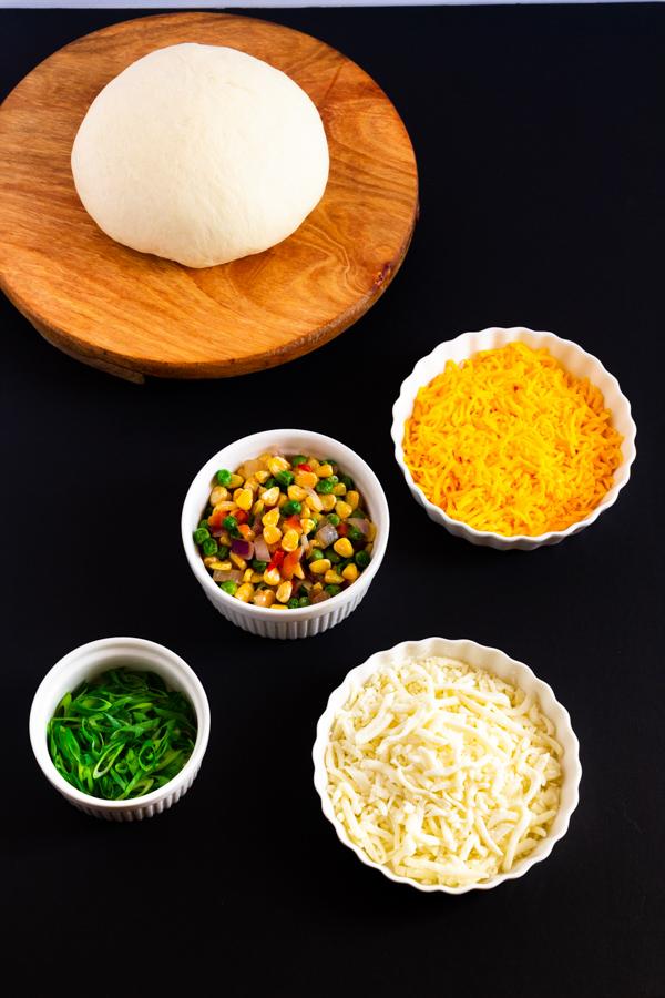 How to make veggie flatbread