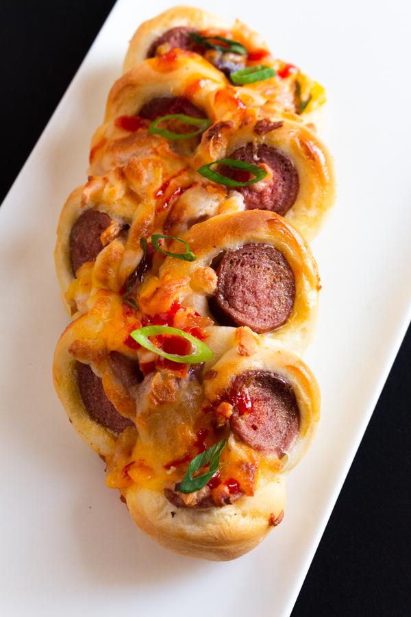 how to make sausage buns