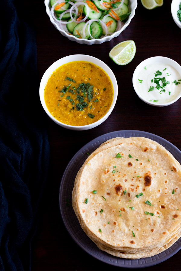 soft chapati recipe