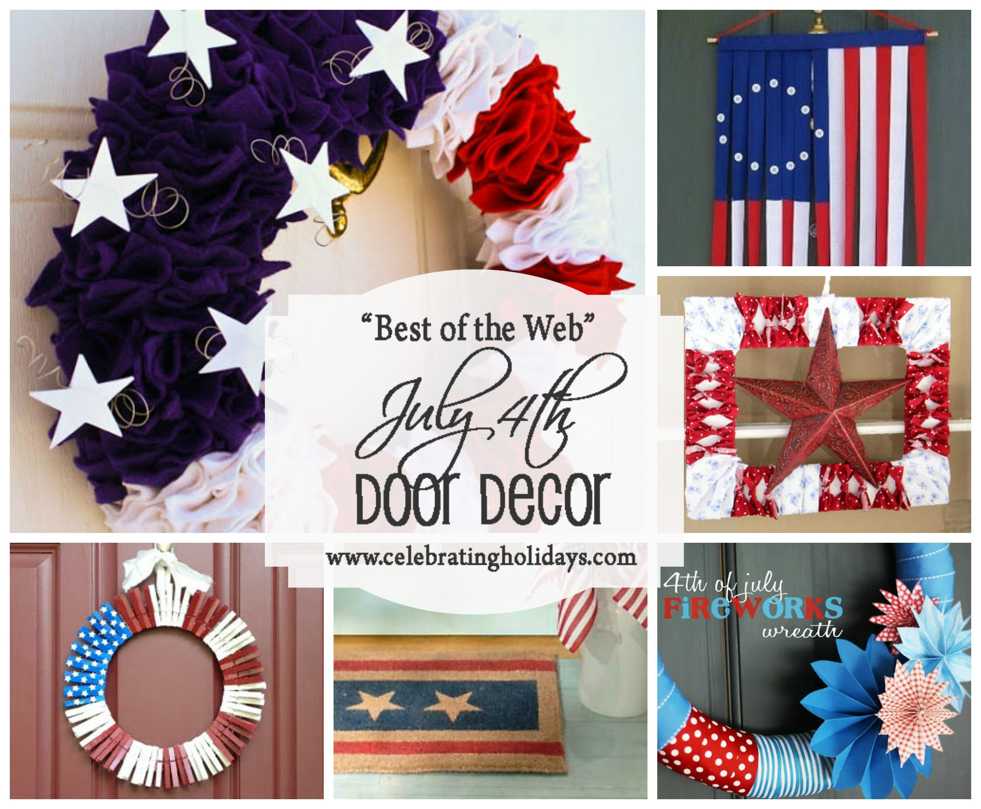 Door DIY Decorating for July 4th