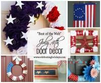 Door DIY Decorating for July 4th | Celebrating Holidays