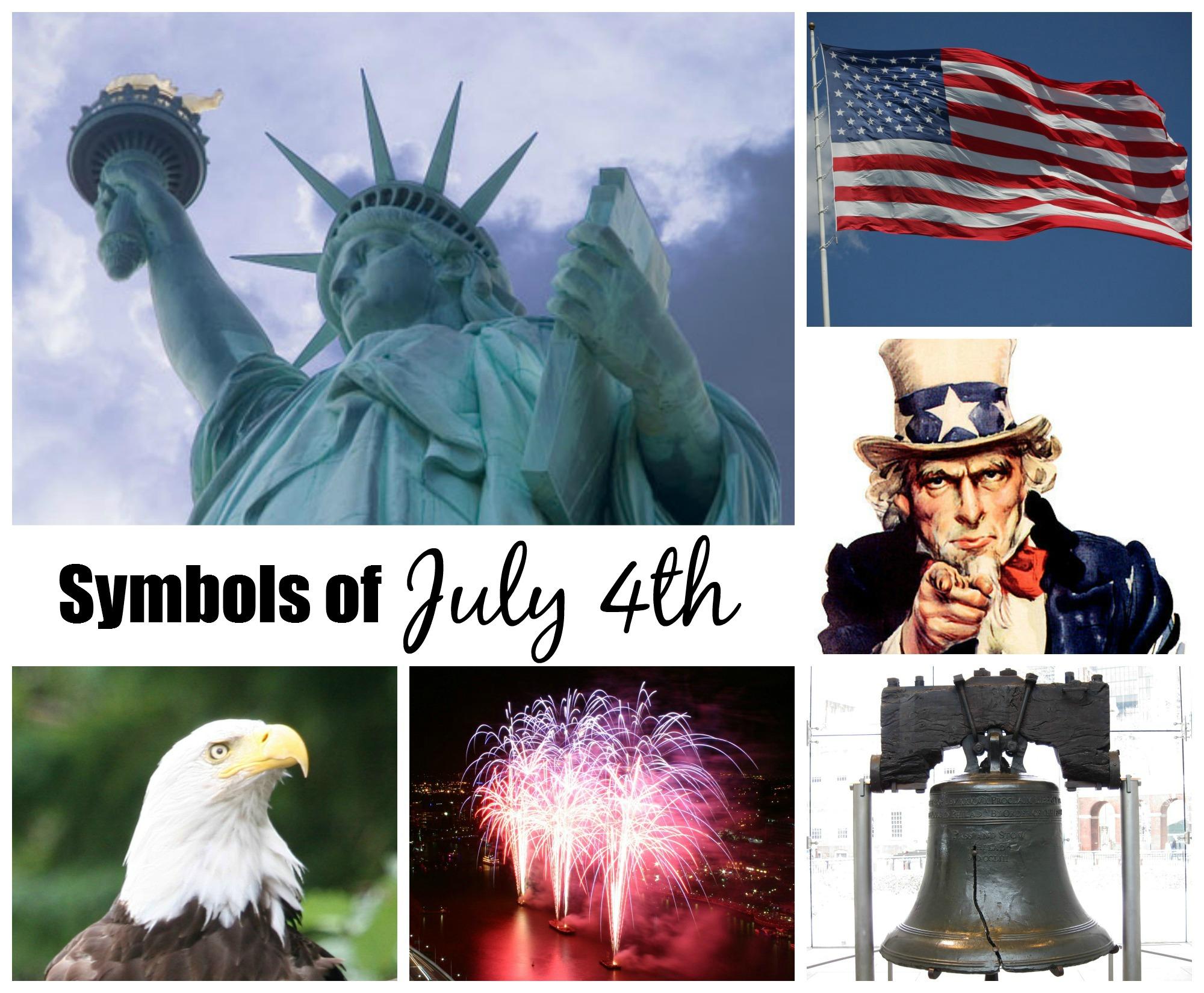 July 4th And Patriotic Symbols