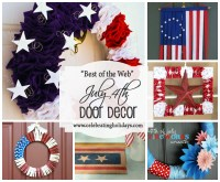 Candle and Luminary DIY Decorating for July 4th ...