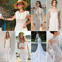 Crochet Bridal Wear / Wedding Dress