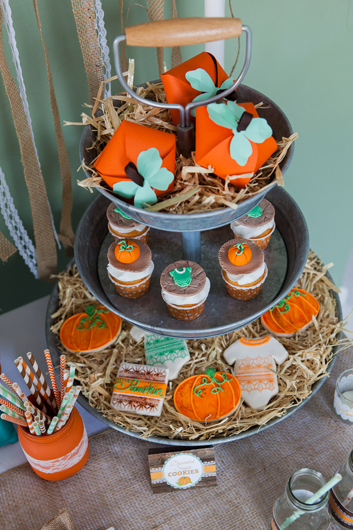 Rustic Little Pumpkin Baby Shower Celebration Lane