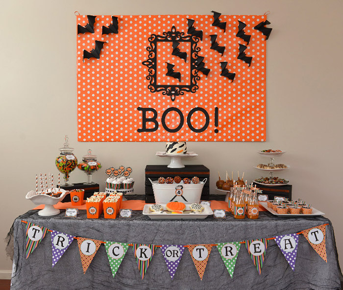 Halloween Table and Kids Party Ideas