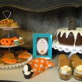 Rustic Thanksgiving Dessert Table + Free Printables  CelebrationLane.com