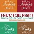 Give Thanks Quote Free Thanksgiving Printable