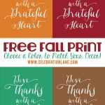 Thanksgiving Quote Free Printable