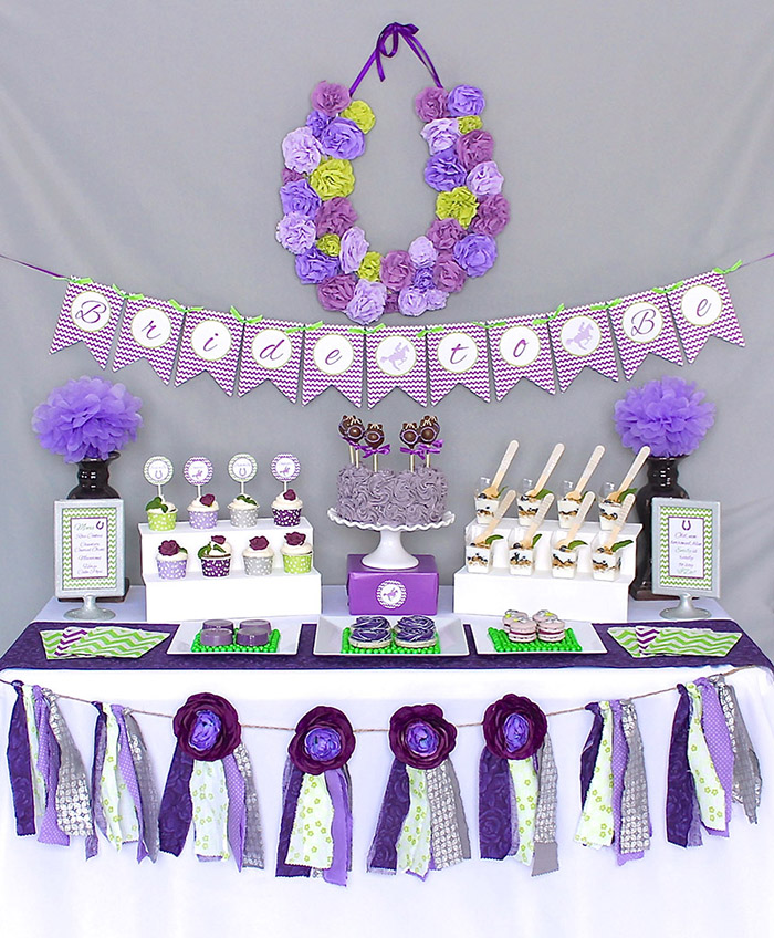 Kentucky Derby Bridal Shower - Sweets Table | CelebrationLane.com