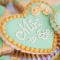 Mint To Be Bridal Shower Cookies