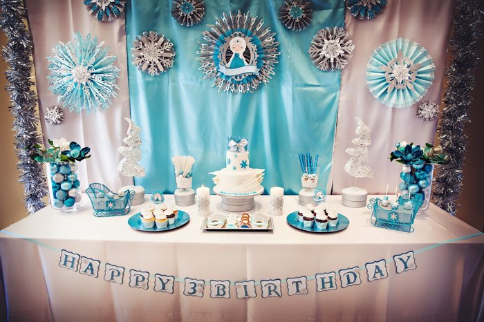 Frozen Birthday Party – Gabi's Worth Melting For