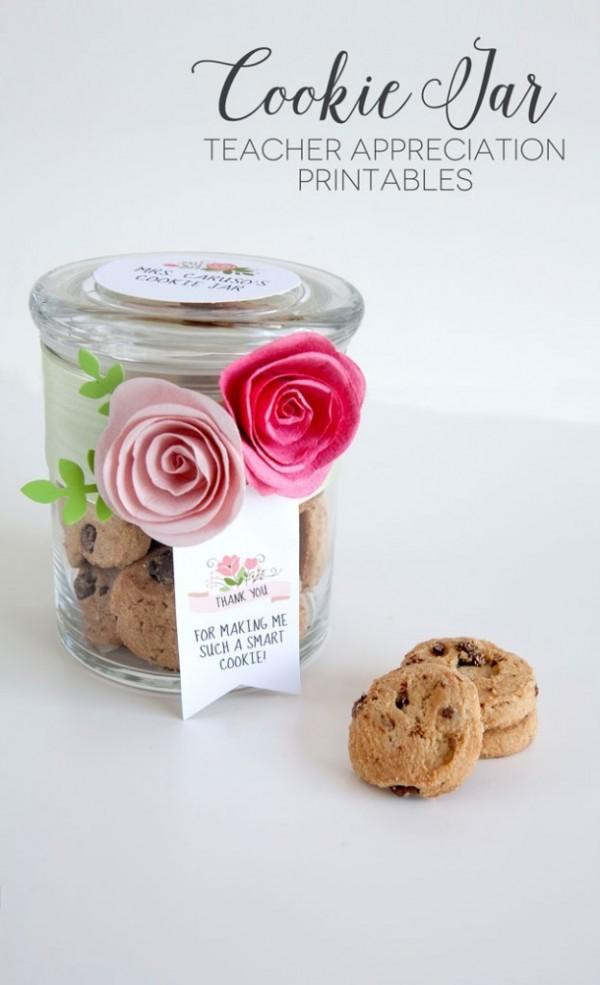 Teacher Appreciation Day Gift Ideas - Cookie Jar Gift