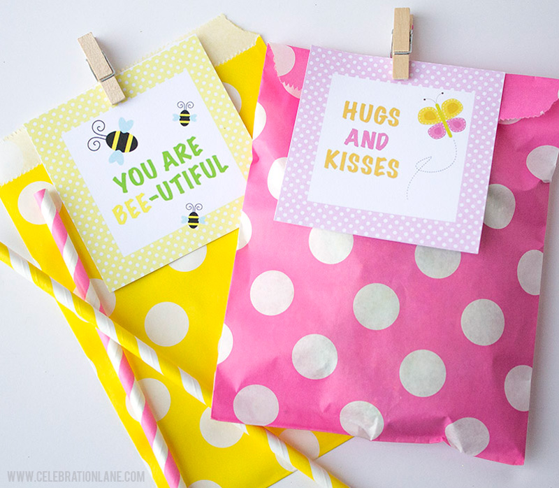 Spring Lunch Box Notes with Free Printables
