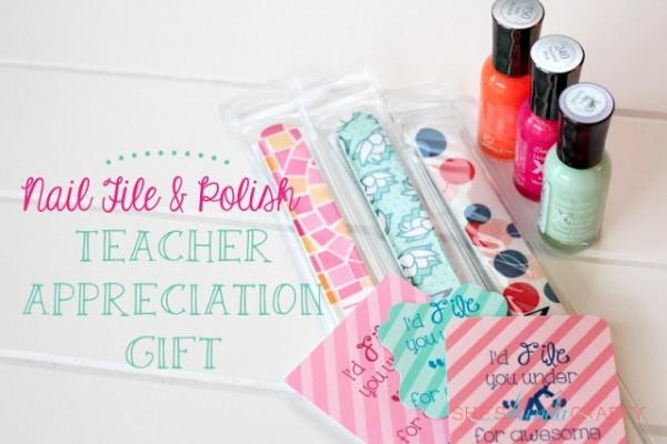 Teacher Appreciation Day Gift Ideas - Nail Kit