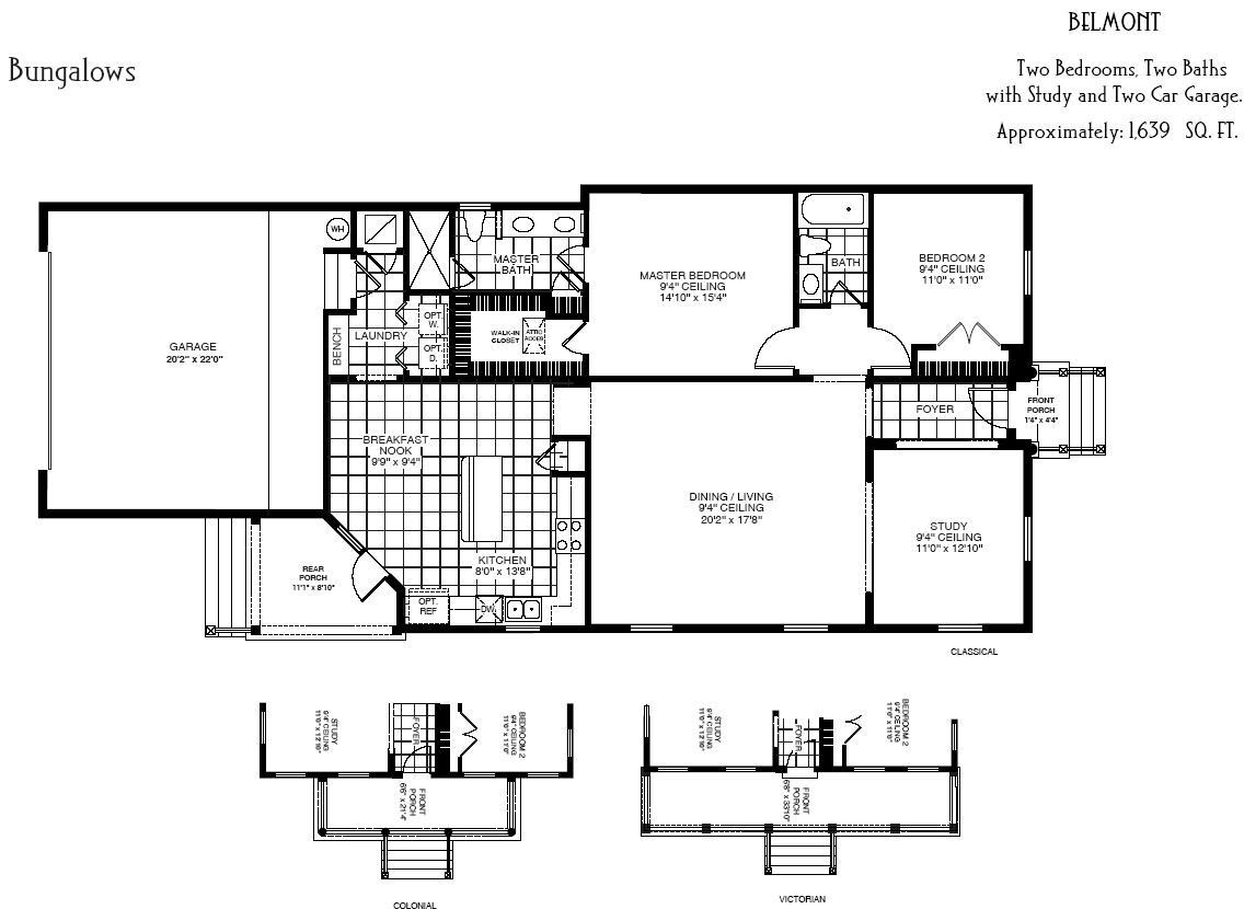 Artisan Park Floor Plans