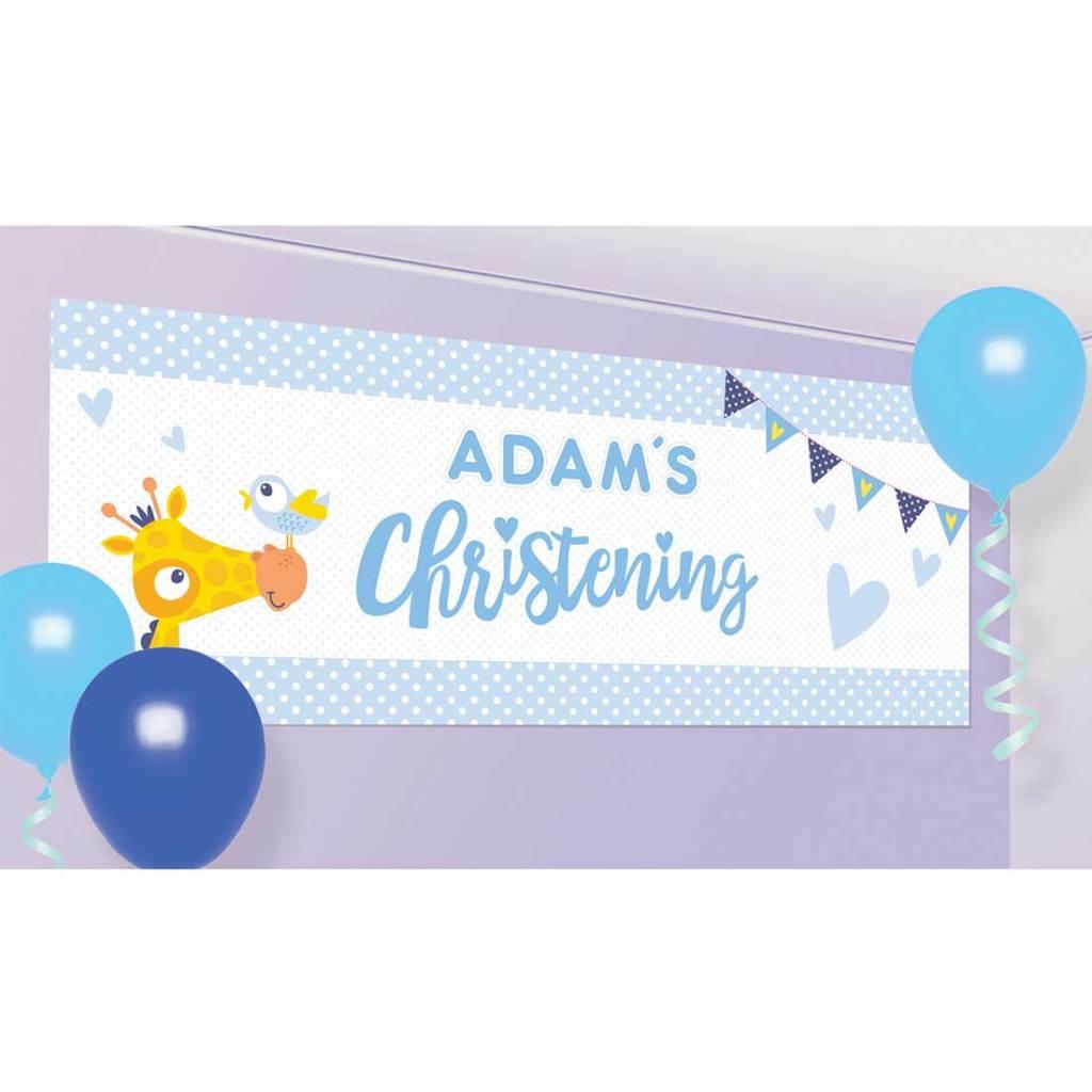 christening-banner-boy
