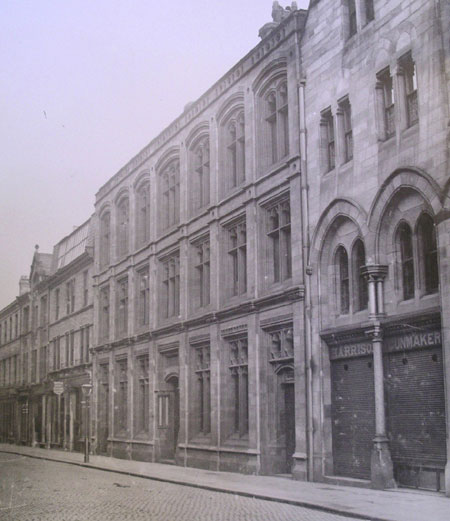 celebrations carlisle Bank Street 1880 old photo