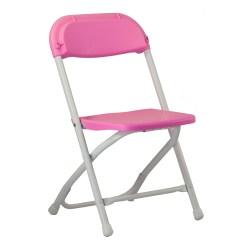 Pink Folding Chair Patio Furniture Cushions Market Umbrella Celebrations Party Rentals