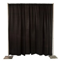 Pipe and Drape - 8' TALL - Celebrations! Party Rentals