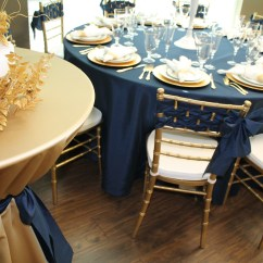 Chair Rentals Sacramento Garden Dining Covers Color Stories | Navy And Gold - Celebrations! Party