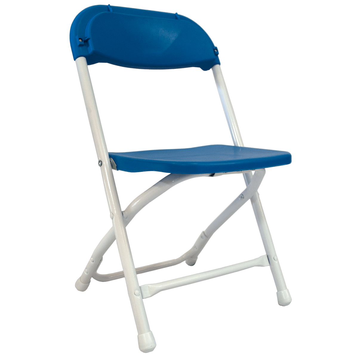 folding chair for child re sling patio chairs 39s blue celebrations party rentals