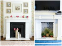 7 Ways to Decorate a Non-Working Fireplace | Celebricious