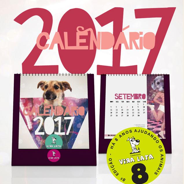 Calendário de Mesa - 2017