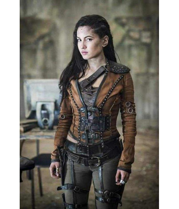 Cute Sassy Wallpapers For Age 14 Eretria The Shannara Chronicles Ivana Baquero Leather Jacket