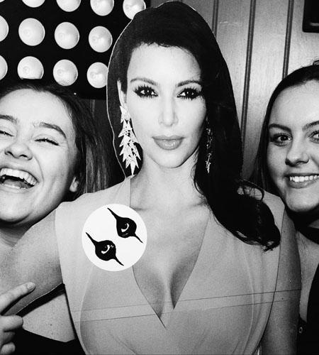 Kim Kardashian (Yellow Gown)