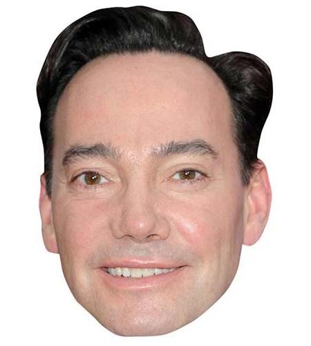 A Cardboard Celebrity Big Head of Craig Revel Horwood