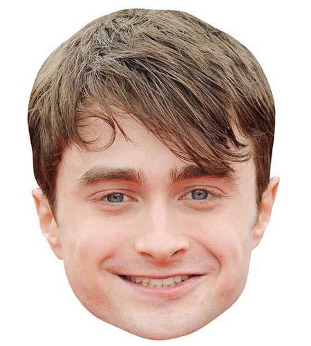 A Cardboard Celebrity Big Head of Daniel Radcliffe