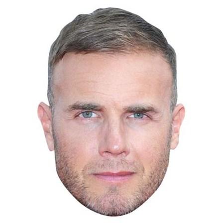 A Cardboard Celebrity Big Head of Gary Barlow