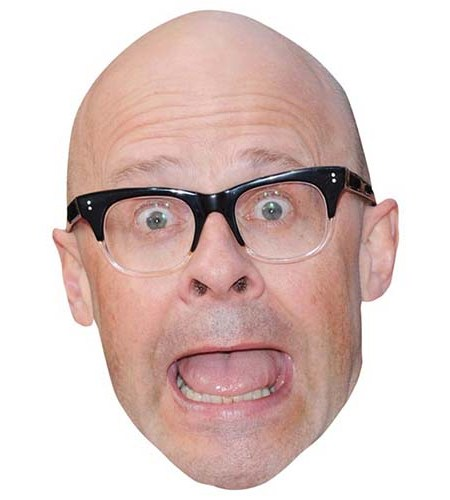 A Cardboard Celebrity Big Head of Harry Hill