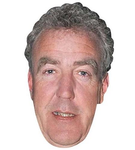 A Cardboard Celebrity Big Head of Jeremy Clarkson