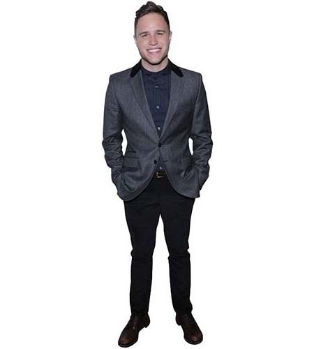 Olly Murs Suit Cardboard Cutout