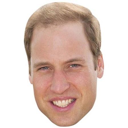 A Cardboard Celebrity Big Head of Prince William