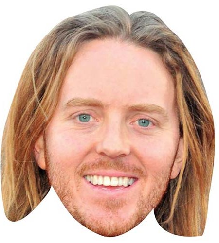 A Cardboard Celebrity Big Head of Tim Minchin