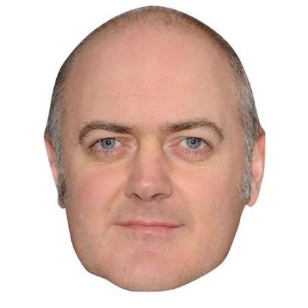 A Cardboard Celebrity Big Head of Dara O'Briain