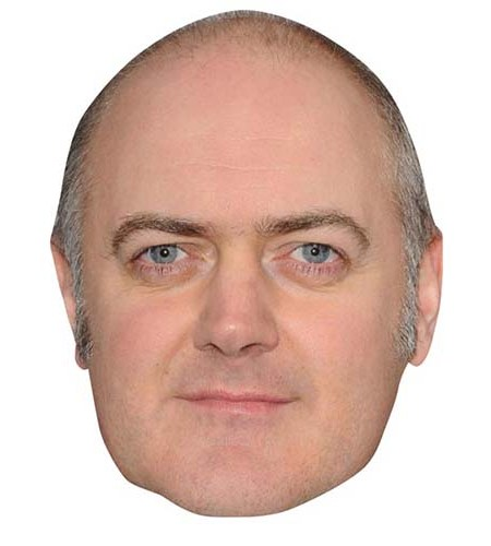 A Cardboard Celebrity Big Head of Dara O'Briain